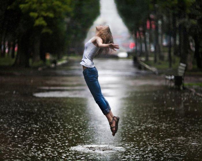summer rain by kargapolovR via DeviantArt.com