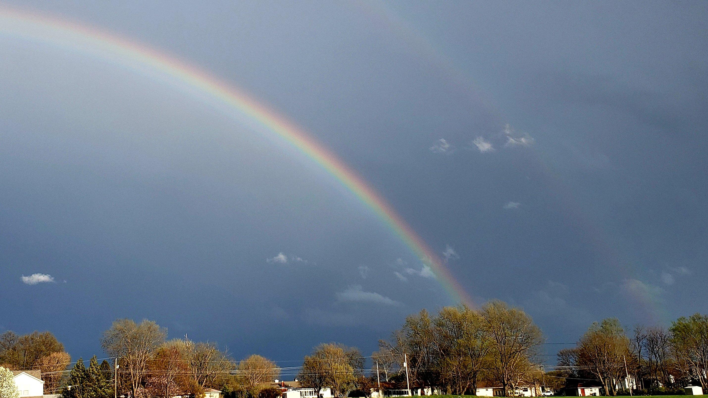 Rainbow in the dark by Mel Douleur